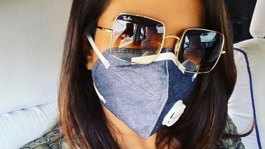 Delhi Pollution: Priyanka Chopra Jonas Posts a Pic Wearing a Mask and Netizens Troll Her Saying, 'Asthama Drama'