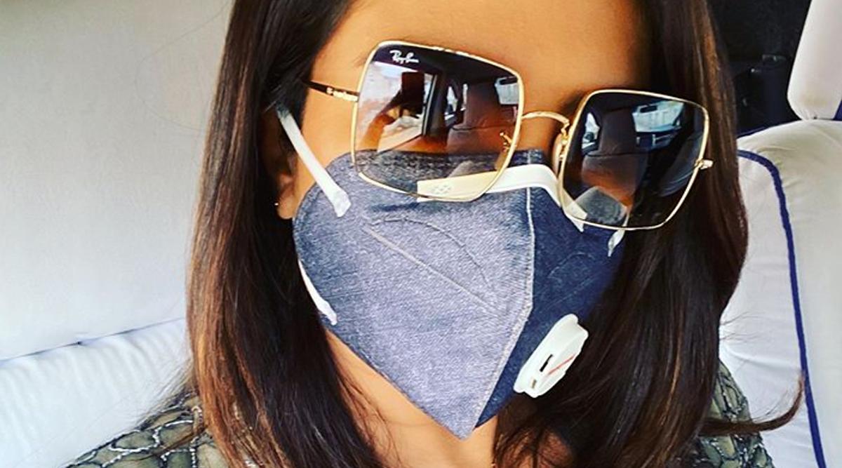 Delhi Pollution: Priyanka Chopra Jonas Posts a Pic Wearing a Mask and Netizens Troll Her Saying, 'Asthama Drama'