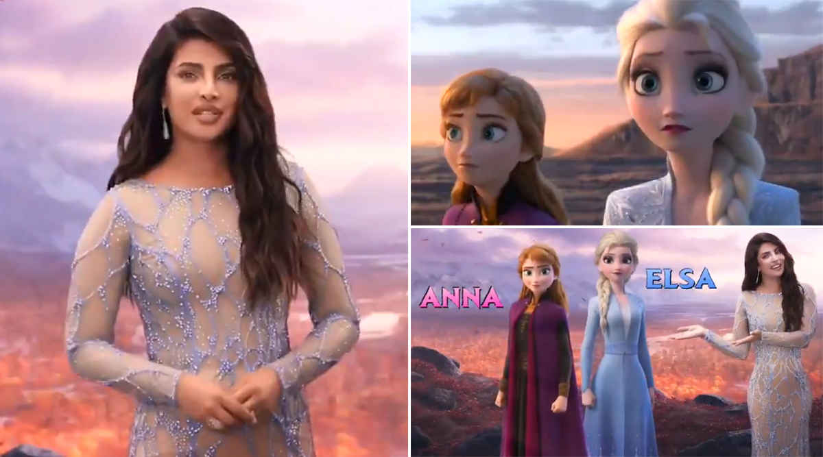 Frozen 2: Priyanka Chopra Reveals How Elsa and Anna's Story Will Look Like in This Women-Empowerment Themed Video