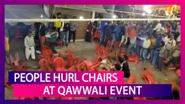 Haridwar: People Hurl Chairs Over Seating Arrangement During Qawwali Event