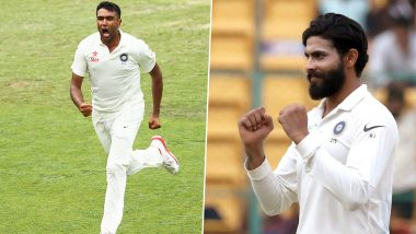 India vs New Zealand 2nd Test 2020: Ravindra Jadeja Could Replace Ravichandran Ashwin at Christchurch