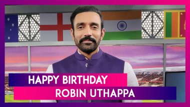 Happy Birthday Robin Uthappa: Things to Know About Indian Wicket-Keeper