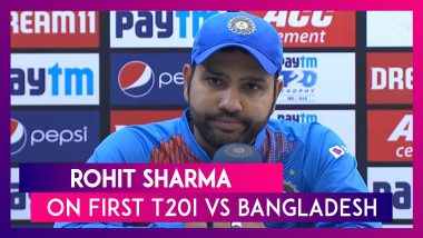 India vs Bangladesh First T20I: Rohit Sharma Says Youngsters Need Time To Understand The Game