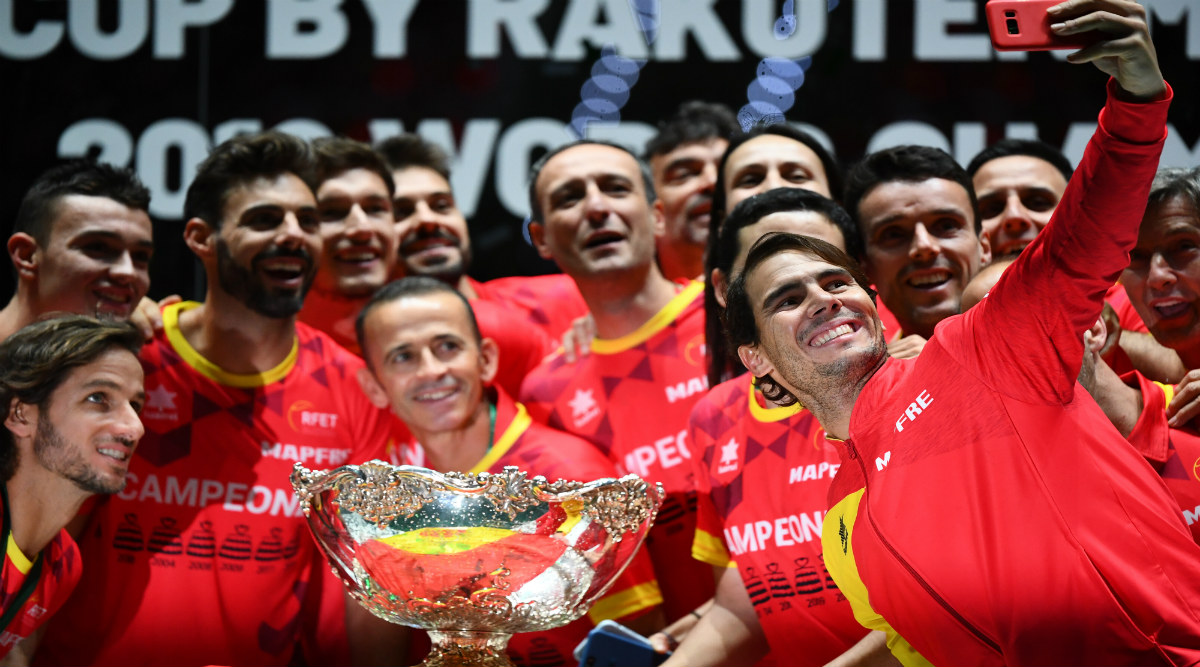 Rafael Nadal Says Had 'Nothing Left to Give' After Leading Spain to Victory in Davis Cup 2019