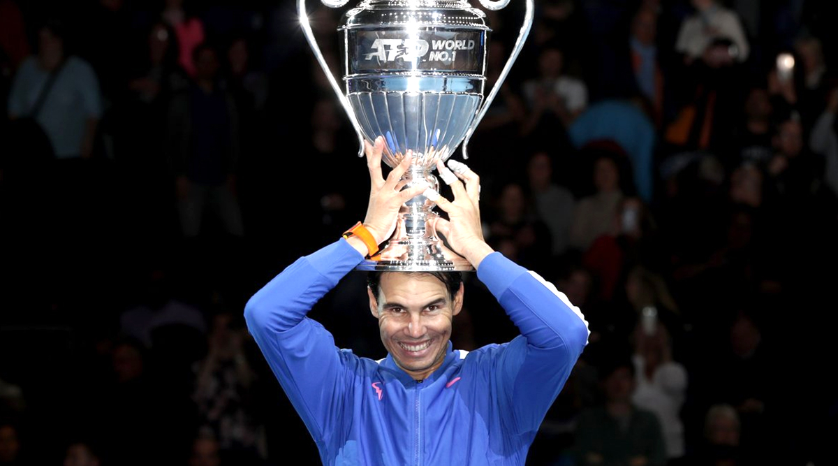 Rafael Nadal Exits ATP Finals 2019 But Finishes The Year As World No 1: Watch Video of Rafa Greeting His Fans at O2 Arena And Promising To Be Next Year