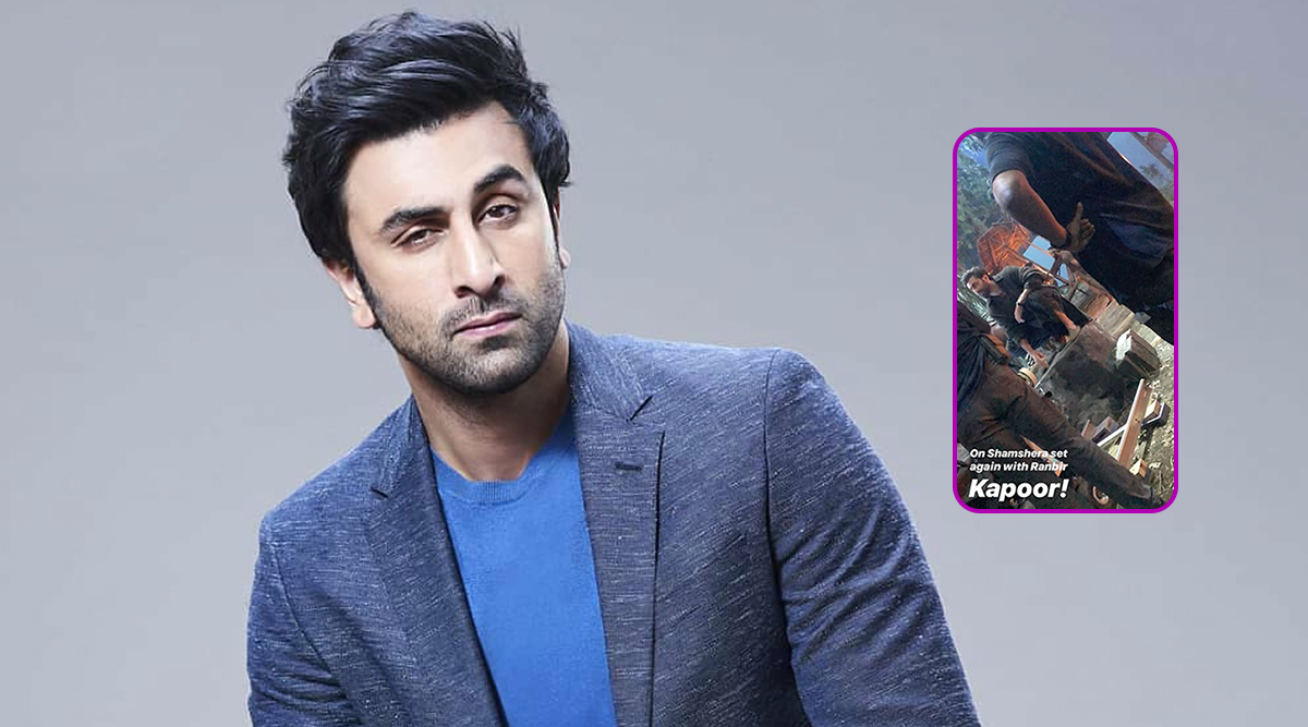 Ranbir Kapoor's Leaked Pic From Shamshera Sets Will Pique Your Interest Instantly!