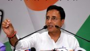 Randeep Surjewala Resigns as Chief Congress Spokesperson, Manish Tewari Likely to Replace Him: Says Report