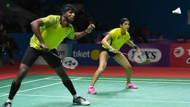 China Open 2019: Doubles Pair Satwiksairaj Rankireddy and Ashwini Ponnappa Knocked Out Of the Tournament