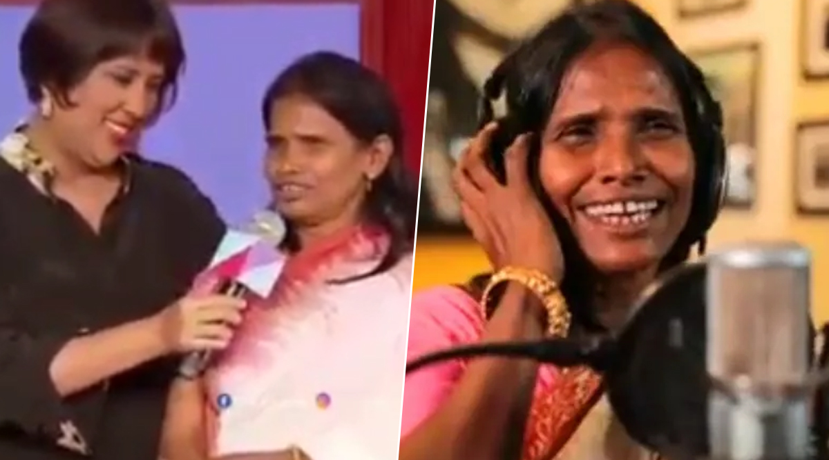 Ranu Mondal Has an Oops Moment, 'Forgets' Lyrics As She Prepares to Croon a Song at an Event (Watch Video)