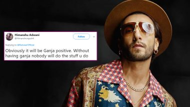 Ranveer Singh's Latest Social Media Update Says His Blood Group Is G+ and Netizens Have the Funniest Replies (View Tweets)