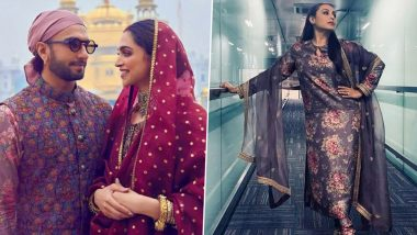 Fashion Faceoff: Ranveer Singh VS Rani Mukherji in Floral Sabyasachi Ensemble!