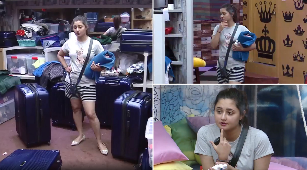 Bigg Boss 13: Is Rashami Desai Afraid Of Being Evicted? Actress Urges Fans to Vote and Give Her 'Ashirwad' (Watch Video)