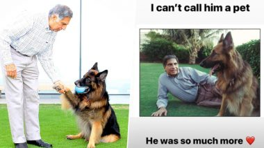 Ratan Tata Remembers His Late Dog Tito On Its 14th Birthday; Praises Works of Animal Welfare Activists (See Pictures)