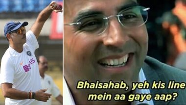 Ravi Shastri's Post 'Old Habits Die Hard' Triggers Funny Memes and Jokes, Fans Take Dig at Indian Head Coach Bowling Leg-Spin