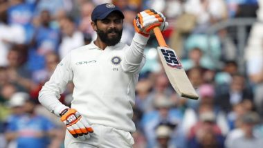 Ravindra Jadeja Slams Half-Century on Day 3 of Intra-Squad Practice Match Ahead of World Test Championship 2021 (Watch Video)