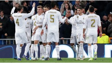 Real Madrid vs Real Sociedad, La Liga 2019 Free Live Streaming Online & Match Time in IST: How to Get Live Telecast on TV & Football Score Updates in India?