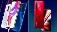Realme X2 Pro, Realme 5s Smartphones Launching Today in India; Watch LIVE Streaming of Realme's New Flagship Phone Launch Event