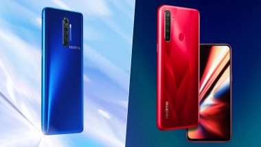 Realme LIVE Updates: Realme X2 Pro & Realme 5s Smartphones Launched in India at Rs 29,999 & Rs 9,999; Prices, Features, Variants, Colours & Specifications