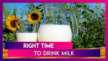 National Milk Day 2019: What Is The Best Time To Drink Milk? All Your Queries Answered!