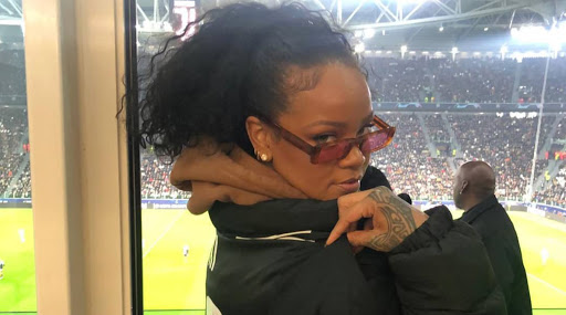 Rihanna Attends the Champions League 2019–20 Clash Between Juventus and Atletico Madrid (View Pics)