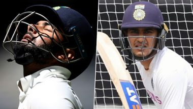 IND vs BAN Day-Night Test 2019: Rishabh Pant and Shubman Gill Released to Play Syed Mushtaq Ali Trophy, KS Bharat Called Up As Wriddhiman Saha Backup