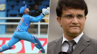 Sourav Ganguly Supports Rishabh Pant, Says 'He Will Mature Slowly, You Have to Give Him Time'