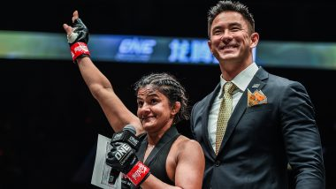 Indian Wrestler Ritu Phogat Earns Dominant Victory on MMA Debut, Defeats South Korean Nam Hee Kim