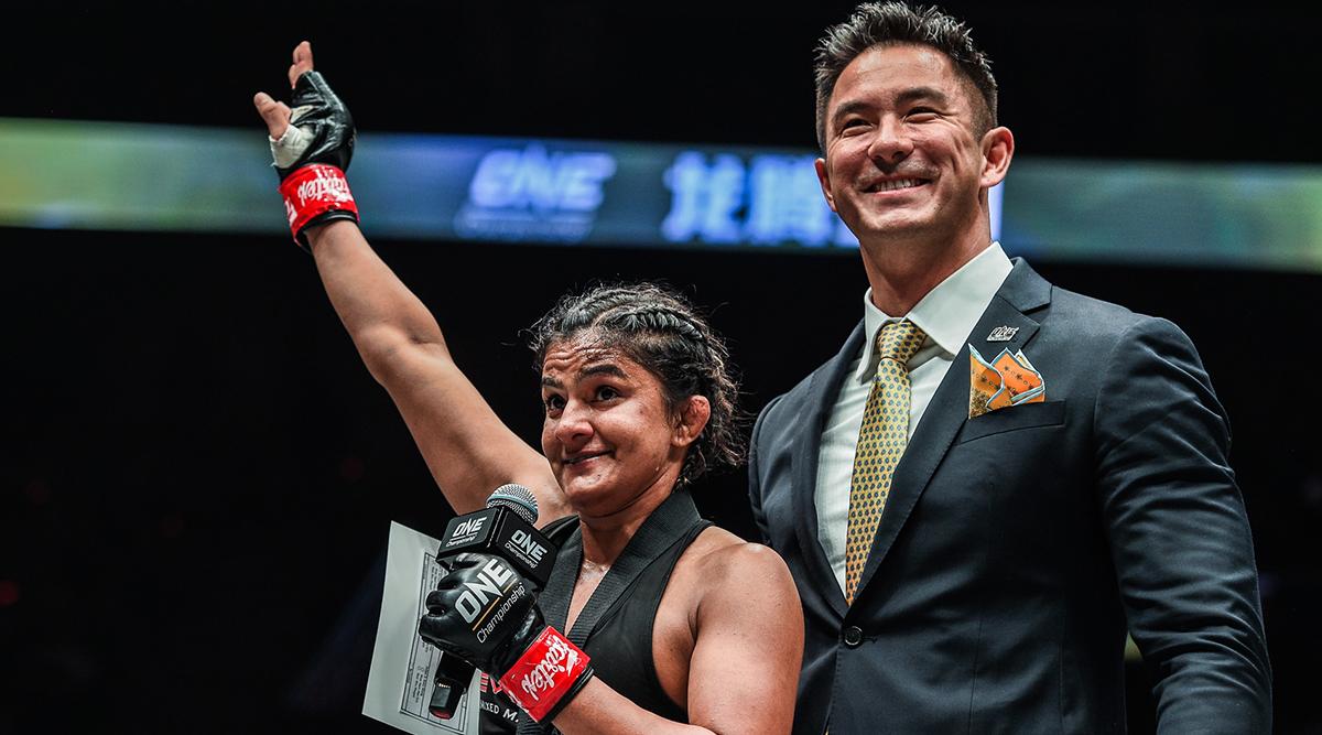 Indian Wrestler Ritu Phogat Earns Dominant Victory on MMA Debut, Defeats South Korean Nam Hee Kim