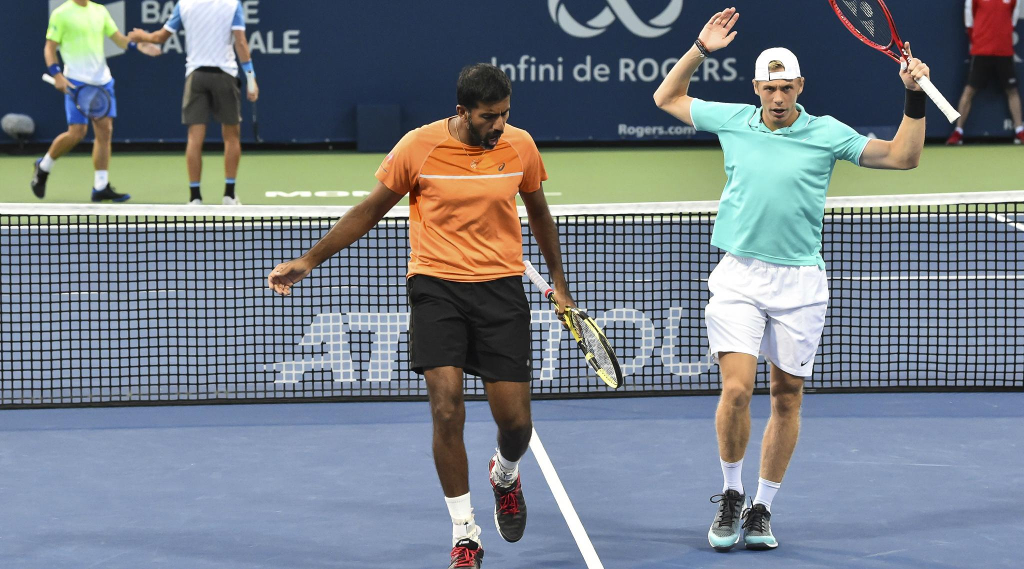 Rohan Bopanna, Denis Shapovalov Crash Out of Paris Masters 2019