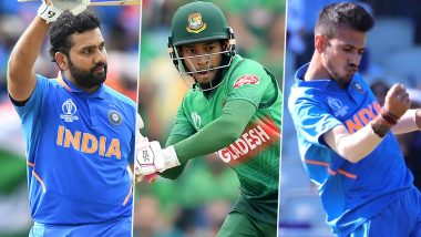 India vs Bangladesh 3rd T20I 2019: Rohit Sharma, Mushfiqur Rahim, Yuzvendra Chahal & Other Key Players to Watch Out For