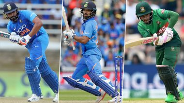 India vs Bangladesh, 2nd T20I 2019, Key Players: Rohit Sharma, Shikhar Dhawan, Mushfiqur Rahim and Other Cricketers to Watch Out for in Rajkot