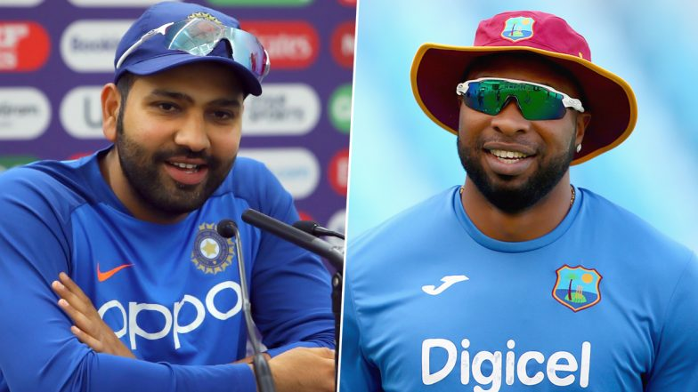 Rohit Sharma and Kieron Pollard's Drama of Rivalry Escalates After Hitman Tweets Angry-Face Emoji Ahead of IND vs WI T20I Series 2019!