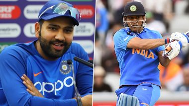 Rohit Sharma Takes a Dig at Reporter After Being Asked About MS Dhoni's Retirement Rumours, Says 'You Guys Make Up These News'