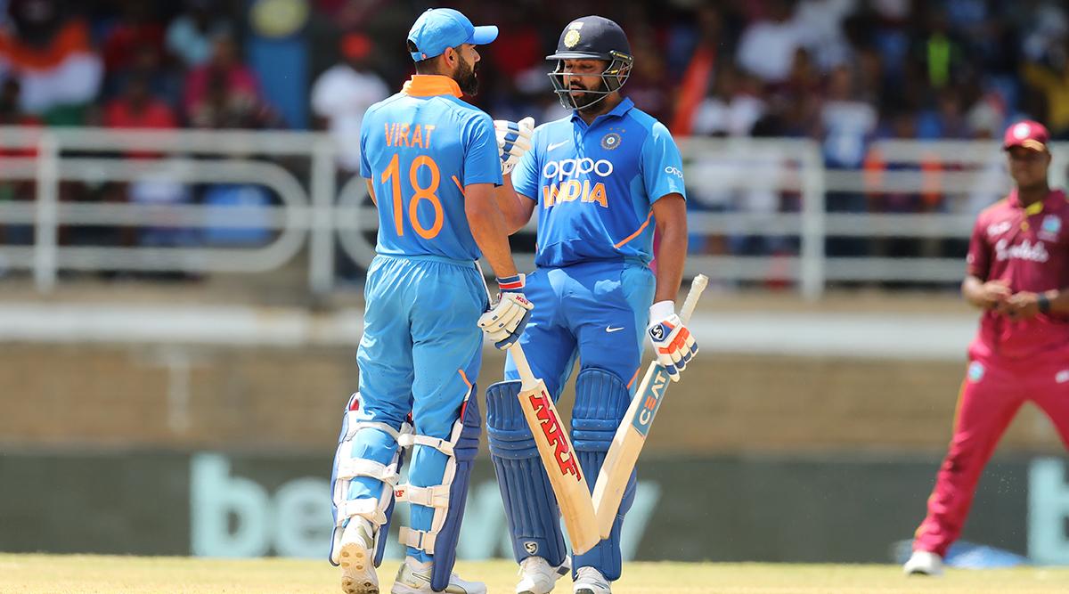 Rohit Sharma on the Verge of Surpassing Virat Kohli As Leading Run-Scorer in T20I Cricket During India vs Bangladesh 1st T20I Match