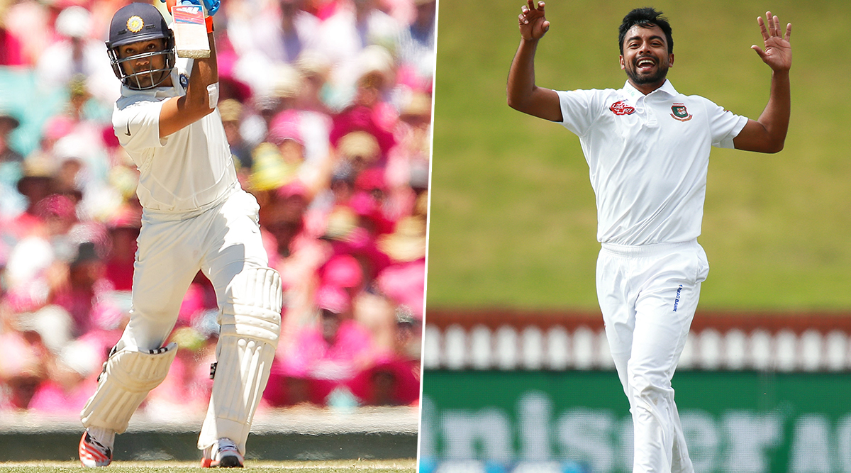 India vs Bangladesh Day-Night Test 2019: Rohit Sharma vs Abu Jayed & Other Exciting Mini Battles to Watch Out for at Eden Gardens