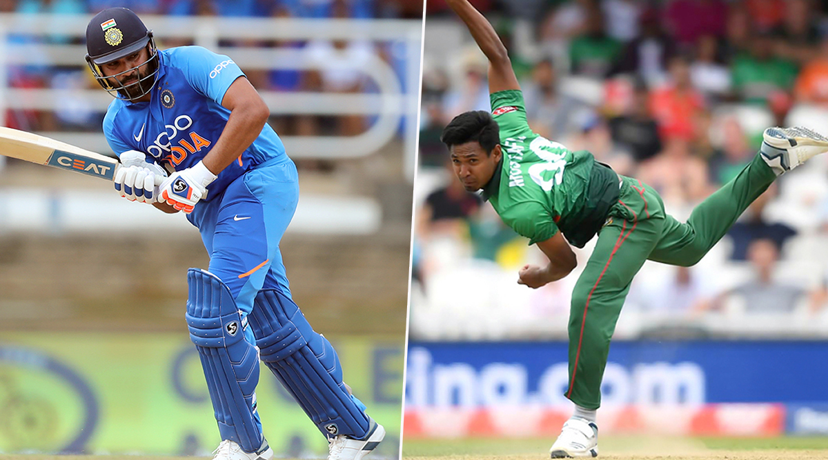 India vs Bangladesh 3rd T20I 2019: Rohit Sharma vs Mustafizur Rahman & Other Mini Battles to Watch Out for in Nagpur
