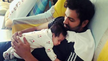 Rohit Sharma Posts Adorable Video of Her Daughter Samaira on Instagram, the Cuteness of Little Princess Will Make You Say Aww (Watch Video)