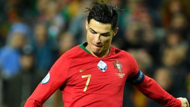 Cristiano Ronaldo Mocked by Crowd With Messi's Chants During Portugal vs Luxembourg Euro Qualifier 2020 Match (Watch Video)