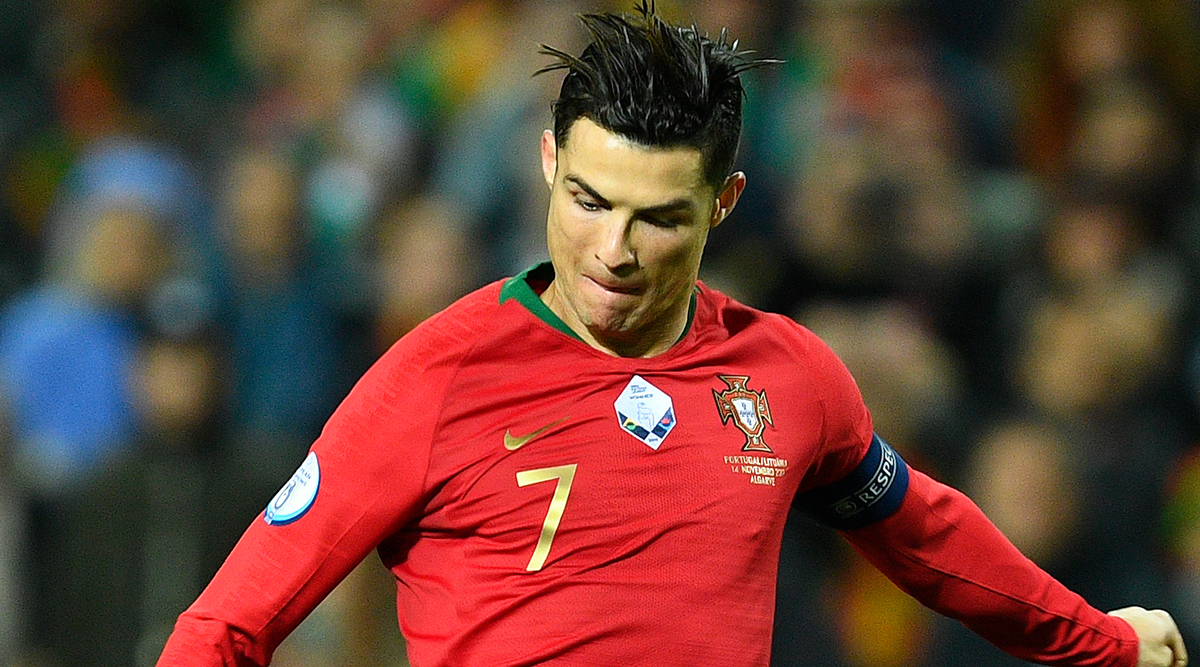 Cristiano Ronaldo Accused By Fans for Stealing Diogo Jota's Goal During Portugal vs Luxembourg, Euro 2020 (Watch Video)