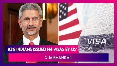 Indians Account For 93% Of H4 Visas Issued By US: EAM S Jaishankar Tells Parliament