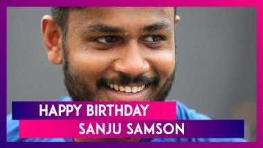 Happy Birthday Sanju Samson: Things to Know About Wicket-Keeper Batsman From Kerala