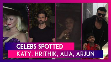 Katy Perry, Hrithik Roshan, Alia Bhatt, Arjun Kapoor & Others Seen In The City | Celebs Spotted