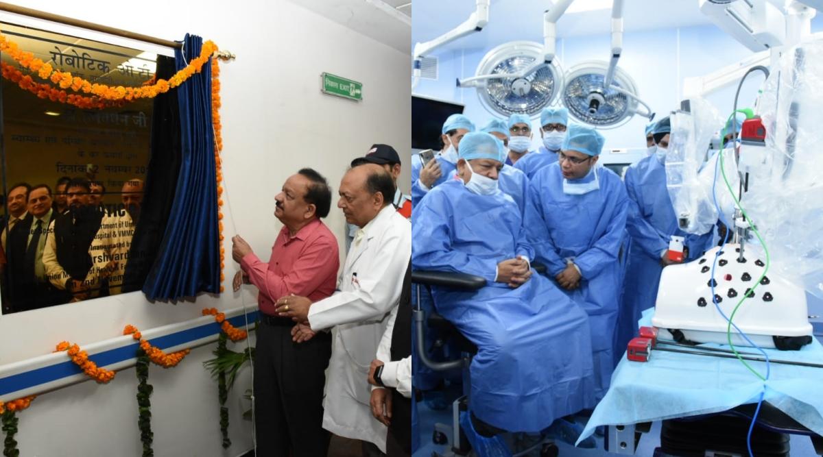 Delhi: First Robotic Surgery Facility Inaugurated at Centre-Run Safdarjung Hospital