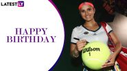 Happy Birthday Sania Mirza: From Hyderabad Open to Wimbledon, Here's a Look at India Tennis Great's Memorable Achievements