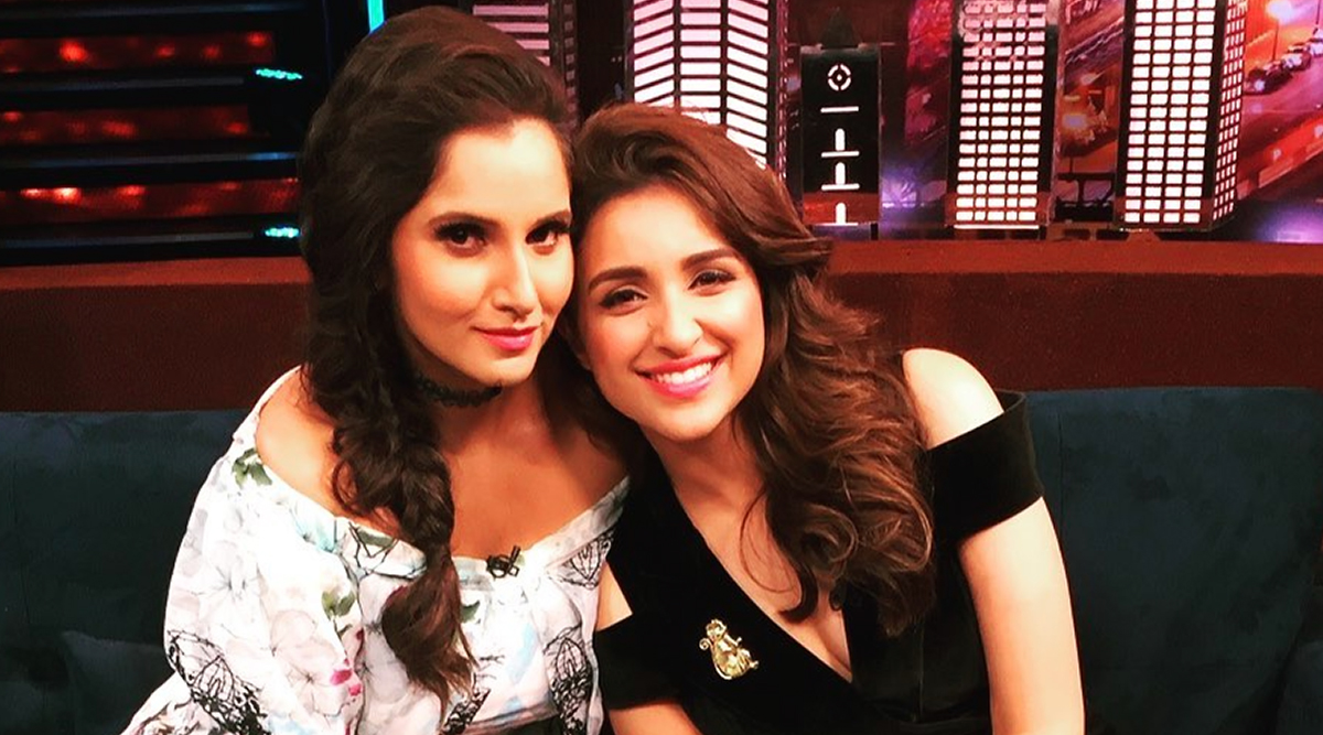 Sania Mirza Birthday: Parineeti Chopra's B'Day Wish For The Tennis Player Is a Typical Note From a BFF!