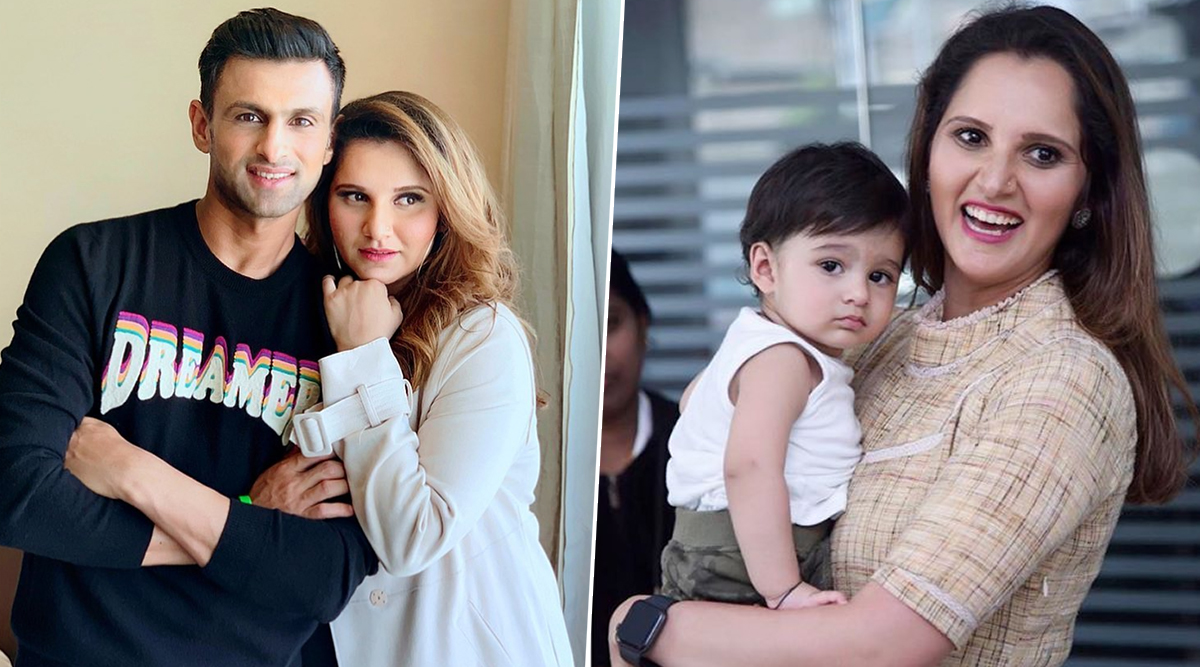 Happy Birthday, Sania Mirza: Family Photos of Indian Tennis Star With Son Izhaan and Husband Shoaib Malik Are So Adorable