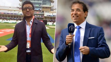 Sanjay Manjrekar 'Insults' Harsha Bhogle Over Pink-Ball Visibility during India vs Bangladesh Day-Night Test, Netizens Bash the Commentator for His Statement