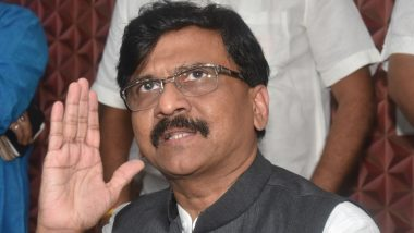 Shiv Sena MP Sanjay Raut Says Fight Against COVID-19 Isn't a Political One, It is Battle to Save Lives