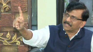 Shiv Sena-NCP-Congress Has Support of 164 MLAs, Says Sanjay Raut After Maharashtra Stunner by BJP