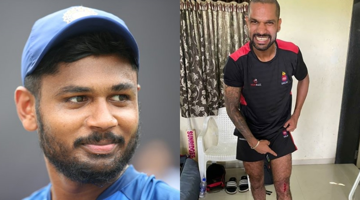 Injured Shikhar Dhawan Out, Sanju Samson Comes in for T20I Series Against West Indies